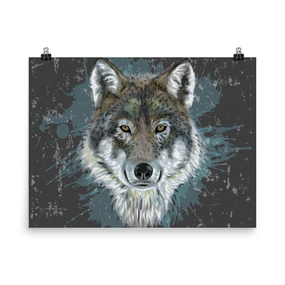 Wolf Poster Wall Art Poster Printing