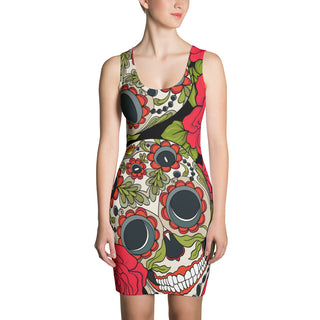 Day of The Dead Sugar Skull Dress