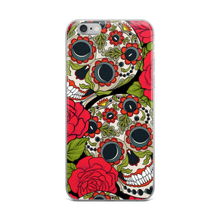 Skull Flora iPhone XR Case iPhone Case