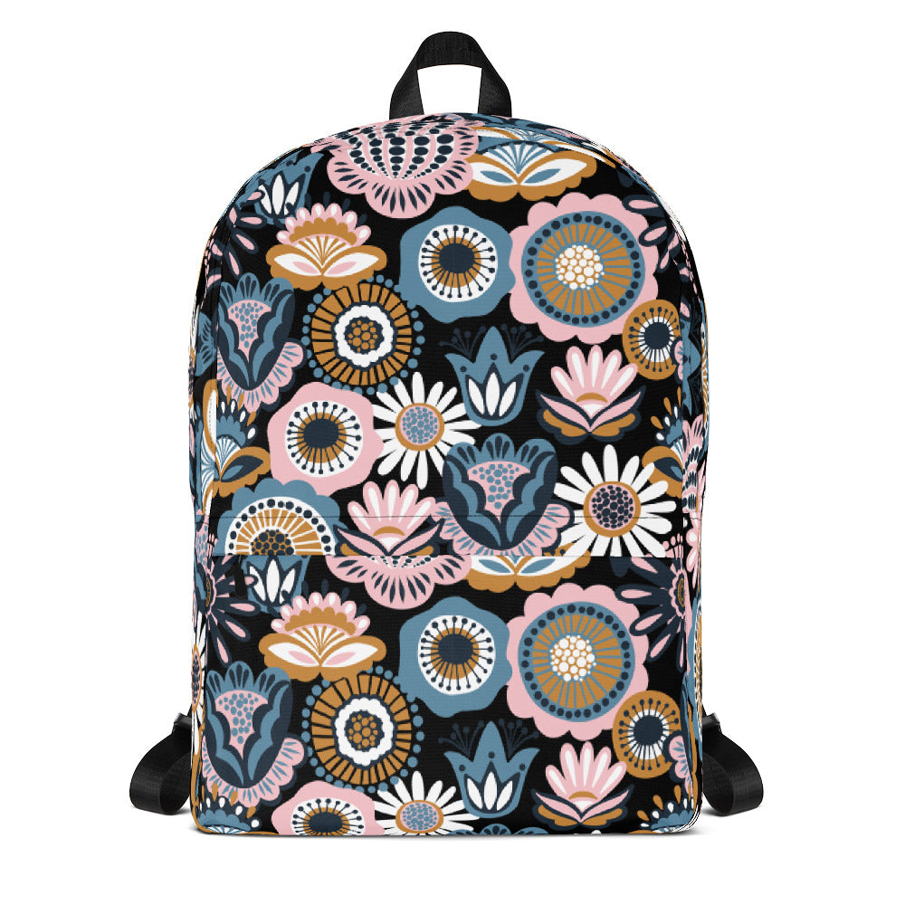 Cactus Backpack Floral Backpack Laptop Bag Daypack Schoolbag Bookbag