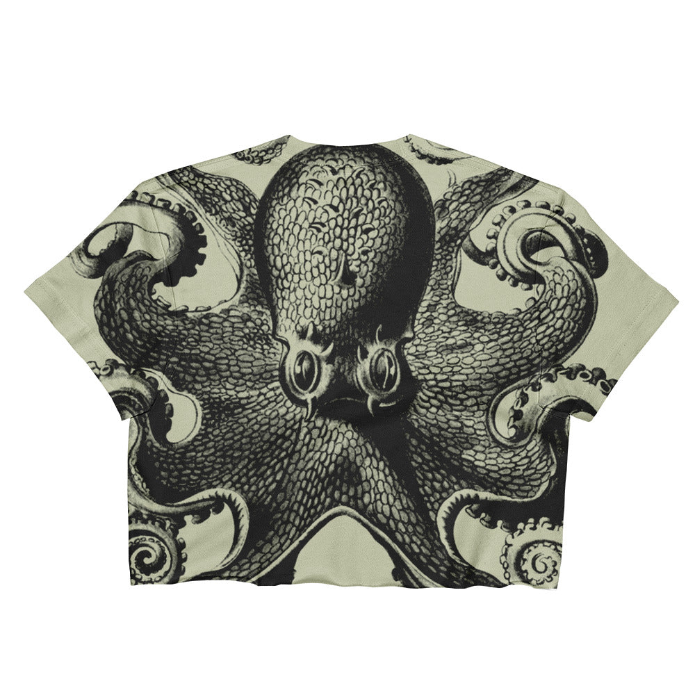 Octopus Ladies Crop Top