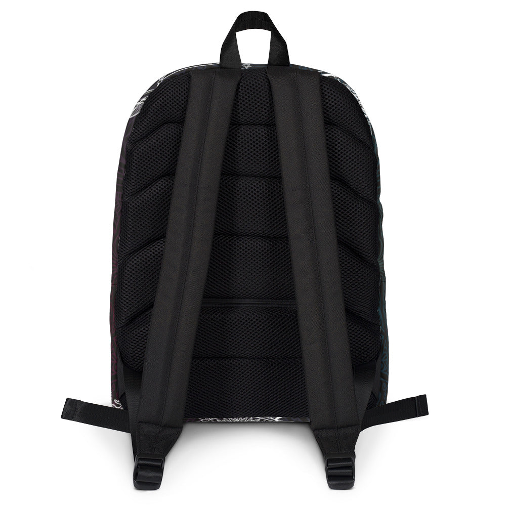 Sun and Moon Backpack Black Backpack