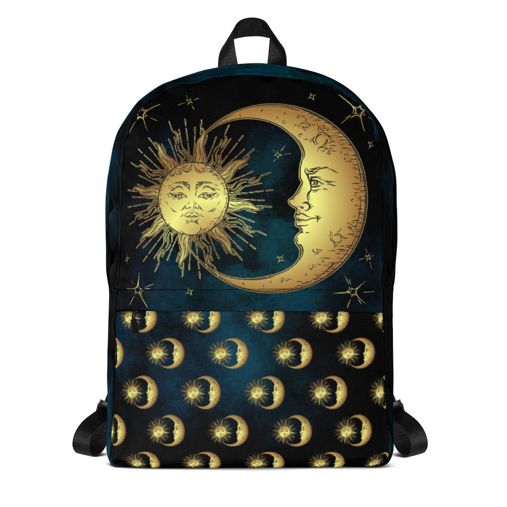 Sun and Moon Backpack Outdoor Backpack Bags Day Backpacks