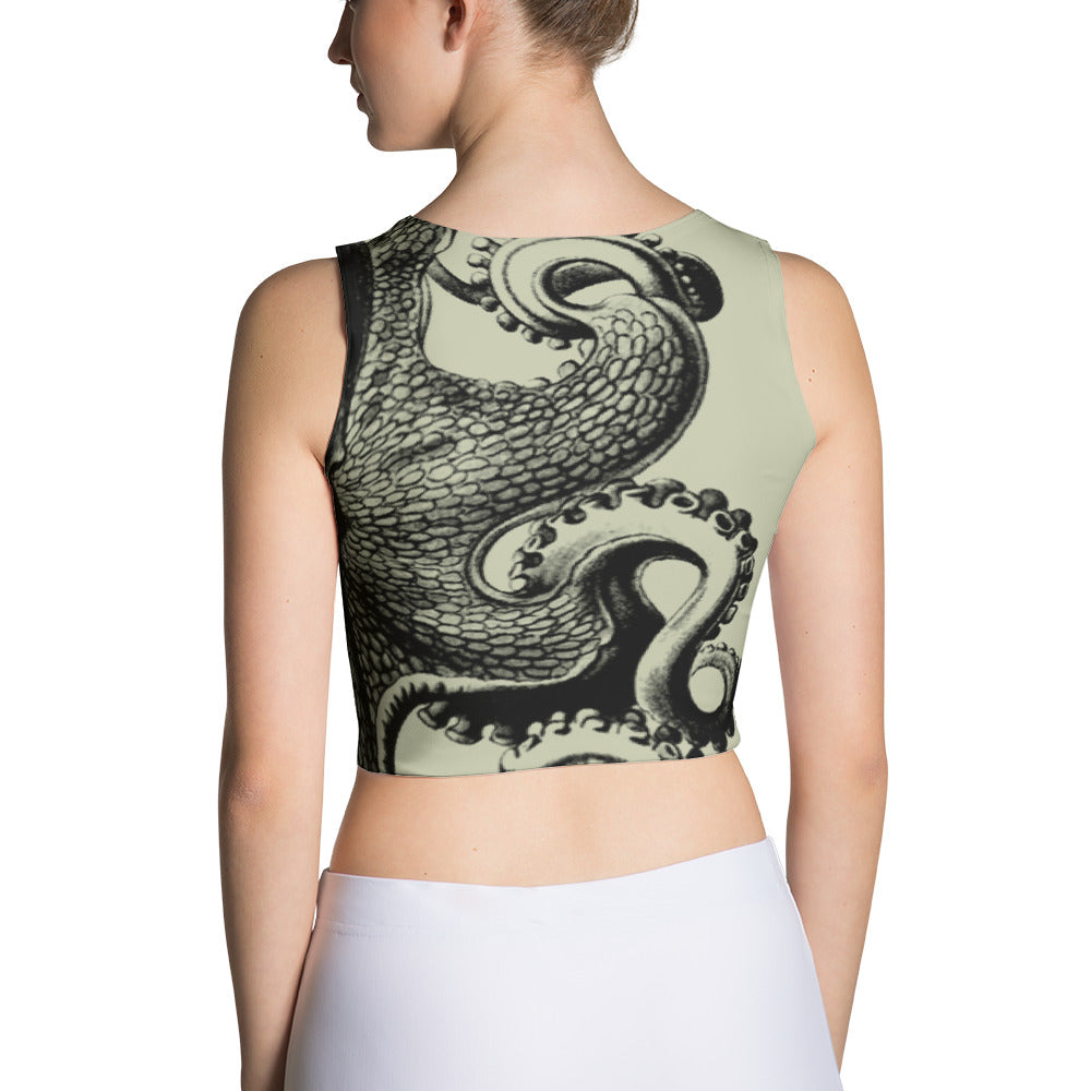 Octopus Crop Top