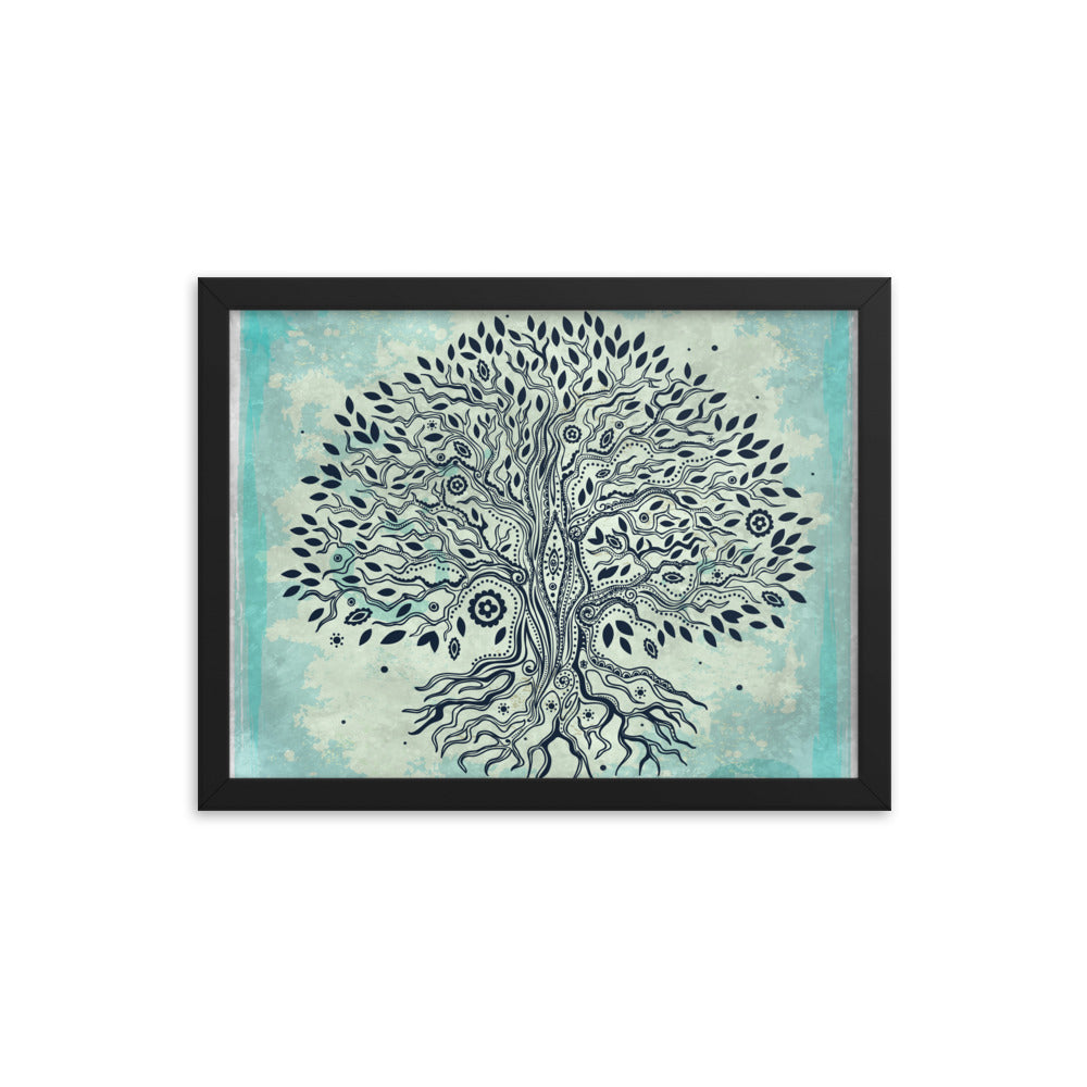 Tree of Life Framed Art Framed Poster