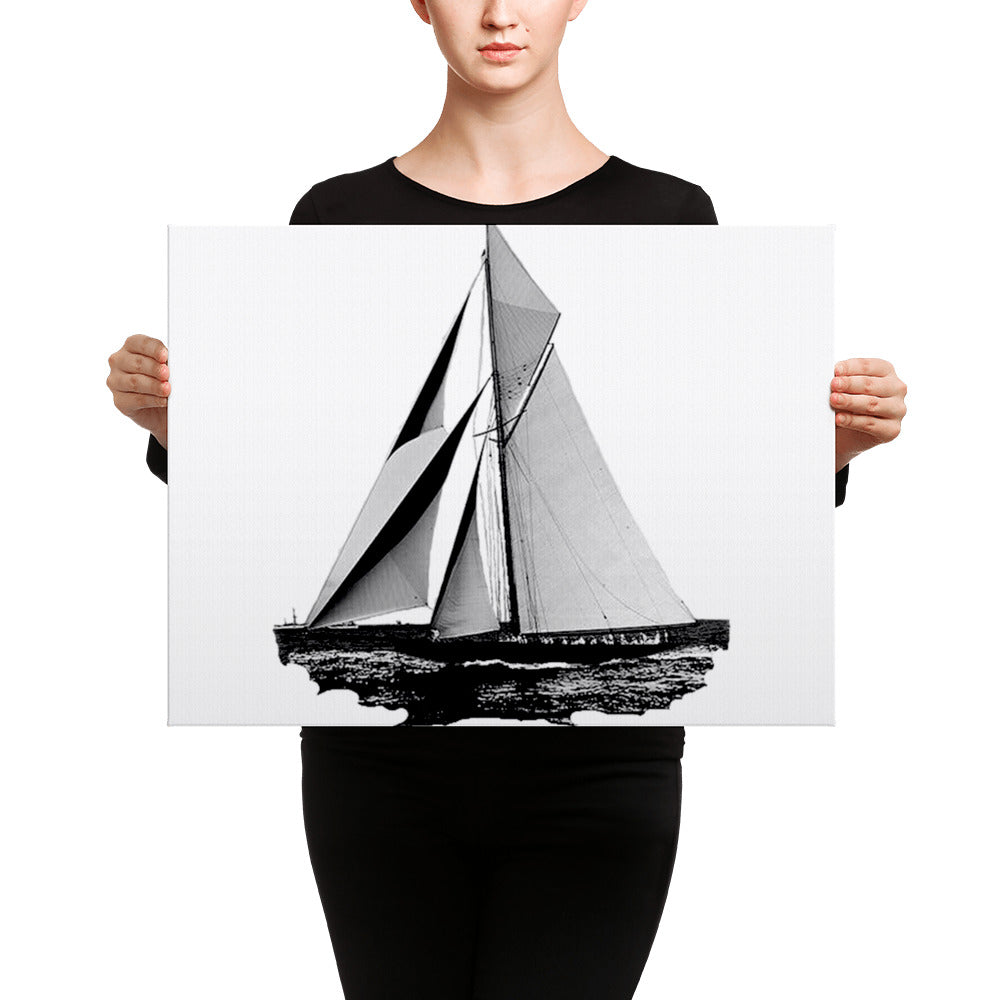 Sailboat Canvas Wall Art