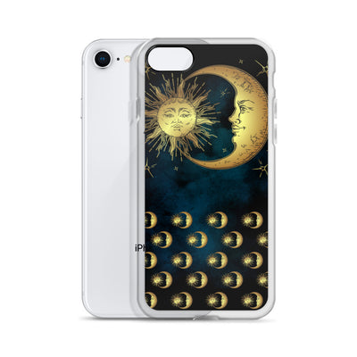 info for a7648 9e418 Sun and Moon iPhone XR Case iPhone Case