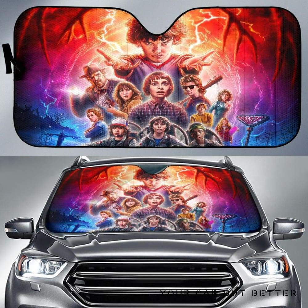 Stranger Things Car Sunshade