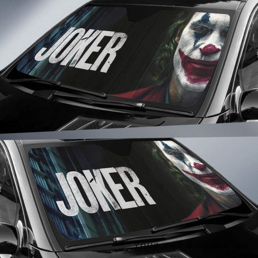 Suicide Squad Car Sun Shades Joker Movie Fan Gift