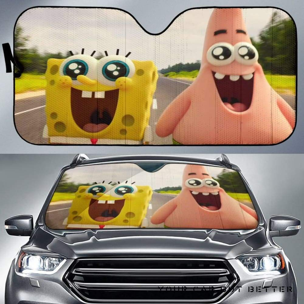 The Spongebob Movie Sponge Out Of Water Car Auto Sun Shade