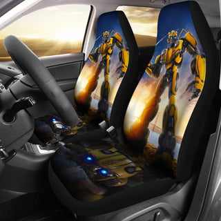 Transformers Deluxe Bumblebee Costume Car Seat Covers Set of 2