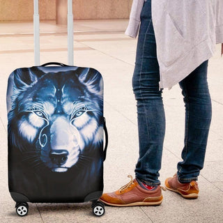 Wolf Spirit Luggage Cover