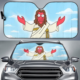 Zoidberg God Costume Futurama Auto Sun Shade