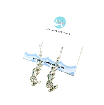 Behind every mermaid Dangling Earring