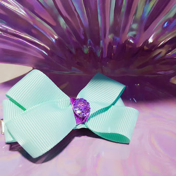 Little Ariel Bow Hairclip