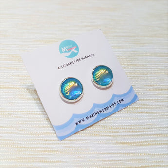 Aurora Seashells Earring (Blue)