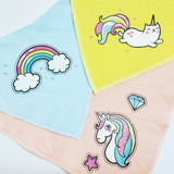 Unicorn Kitty Baby Bib