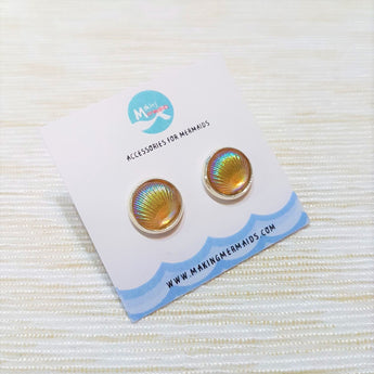 Aurora Seashell Earring (Orange)