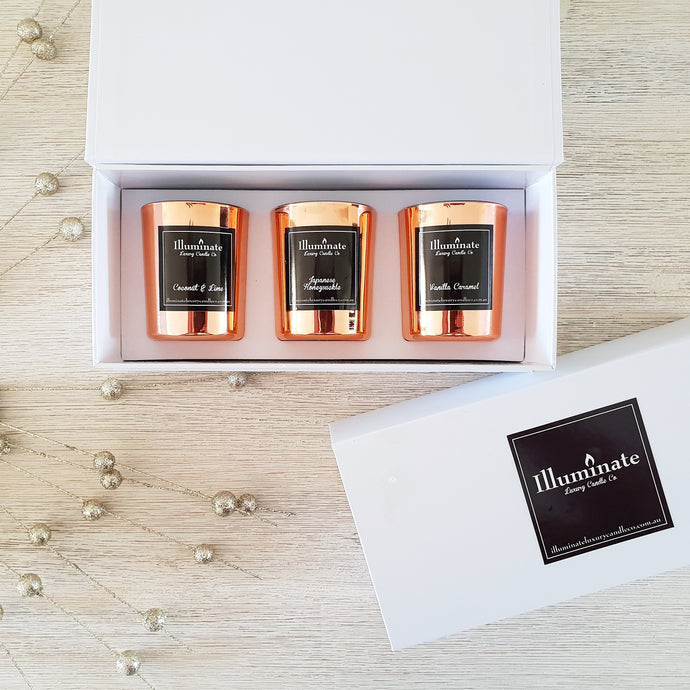 Mini Trio Pack | Rose Gold
