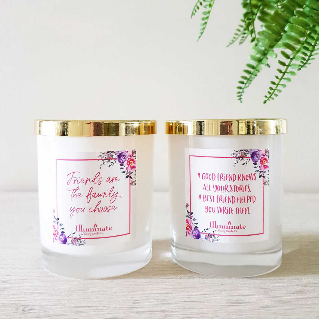 Friendship Candles