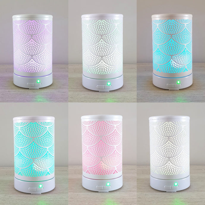 Ultrasonic Diffuser | Mermaid White