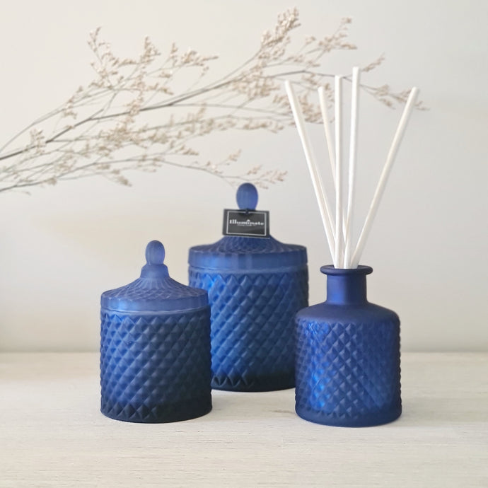 Bohemian Reed Diffuser | Navy Blue 200ml