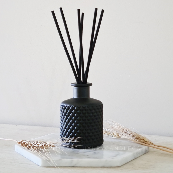 Bohemian Reed Diffuser | Matte Black 200ml