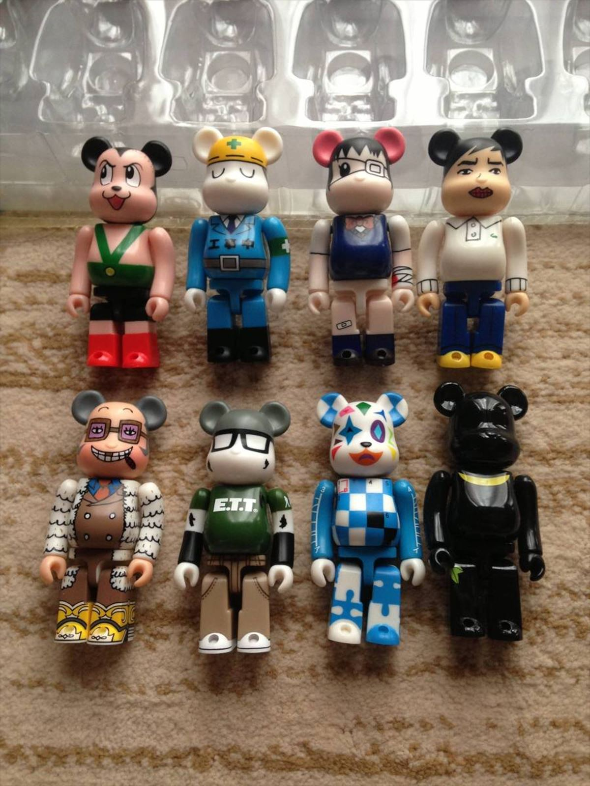 "Medicom /""Blister/"" 100/% Bearbrick Be@rbrick"