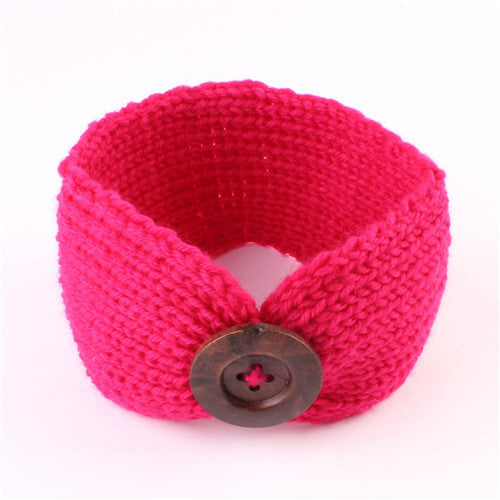 Cute Baby Girl Knit Headband - MyBabyNMore