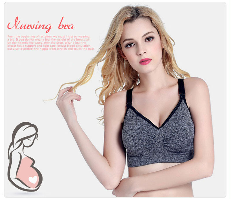 Nursing Bra Plus Size Wire Free