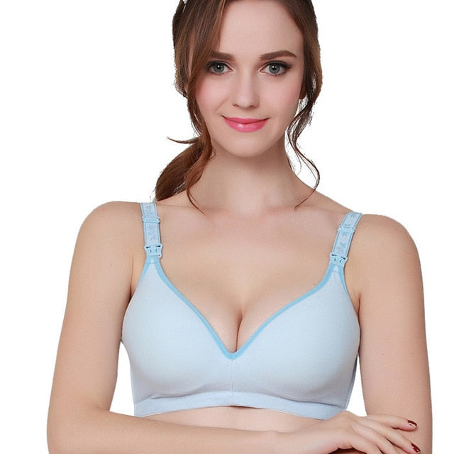 Wire Free Maternity Nursing Bra