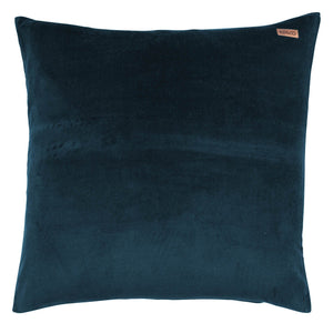 Teal Velvet Euro Pillow Cover - HartCo. Home & Body