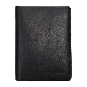 Conquest Travel Wallet Black