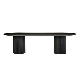 Benjamin Ripple Oval Dining Table - HartCo. Home & Body