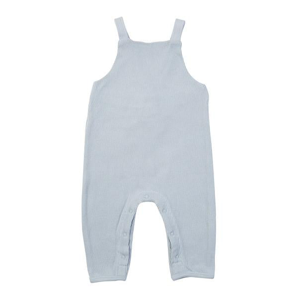 Ziggy Waffle Overalls - Duck Egg Blue - HartCo. Home & Body