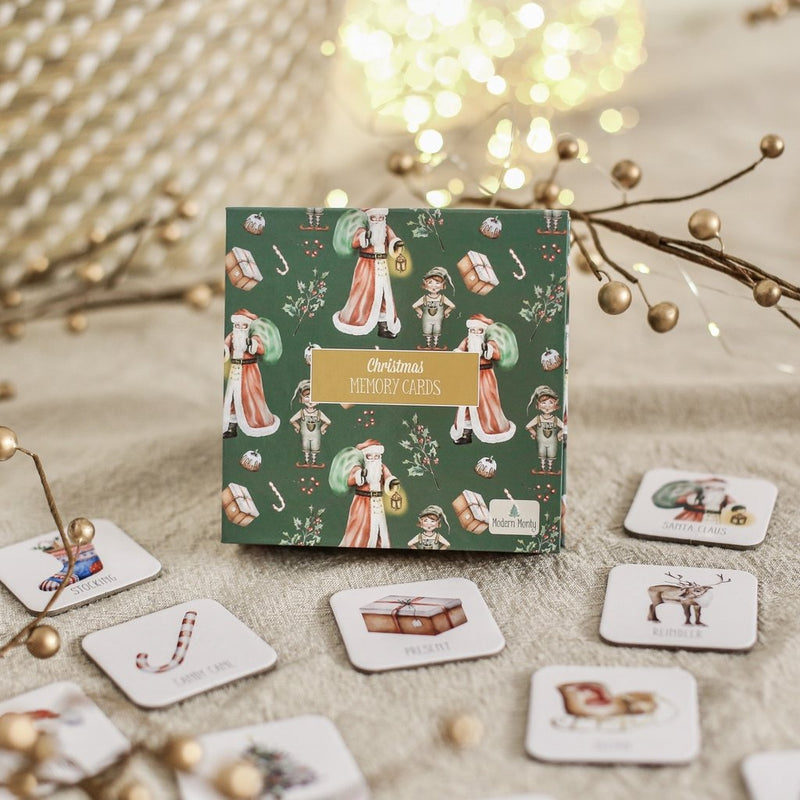 Christmas Memory Card Game - HartCo. Home & Body