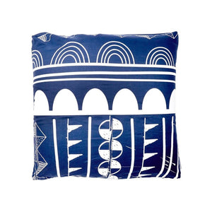 Navy Monday Floor Cushion
