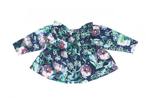 Frida Smock Top Botanical