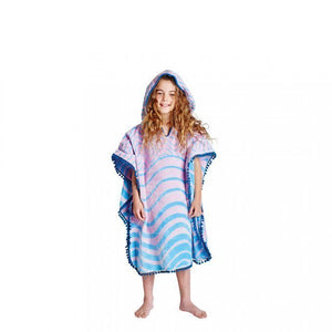 Slither Velour Kids Poncho