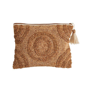 Meno Beaded Clutch