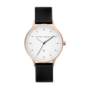 INERTIA - BRUSHED COPPER / WHITE FACE / BLACK STRAP