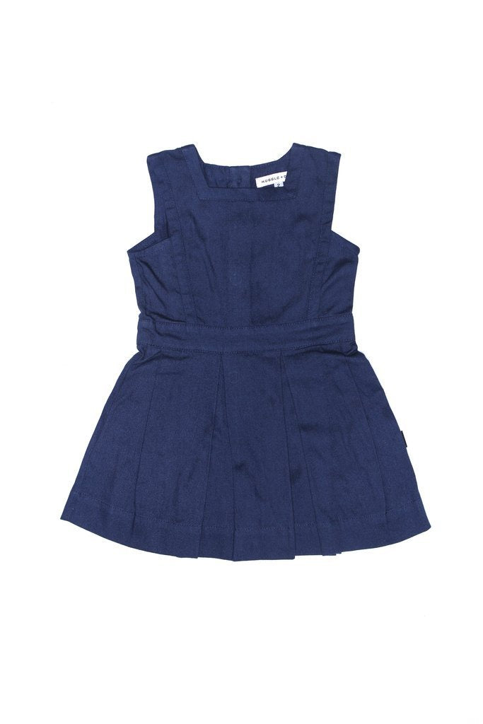 Matilda Pinafore Ink Navy - HartCo. Home & Body