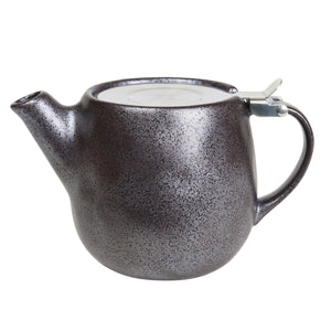 EARTH TEAPOT/BLACK