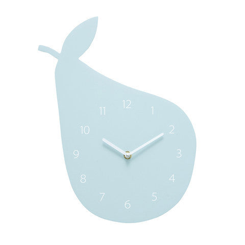Kids Clock Pear - HartCo. Home & Body
