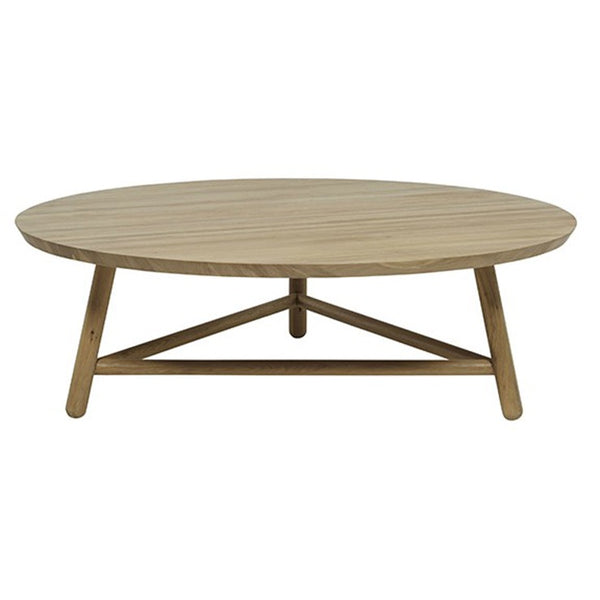 Linea Tri Base Coffee Table - HartCo. Home & Body