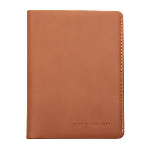 Conquest Travel Wallet Camel