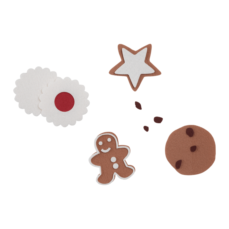 Mini Makers Felt Cookies - HartCo. Home & Body