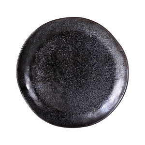 Earth Black Dinner Plate