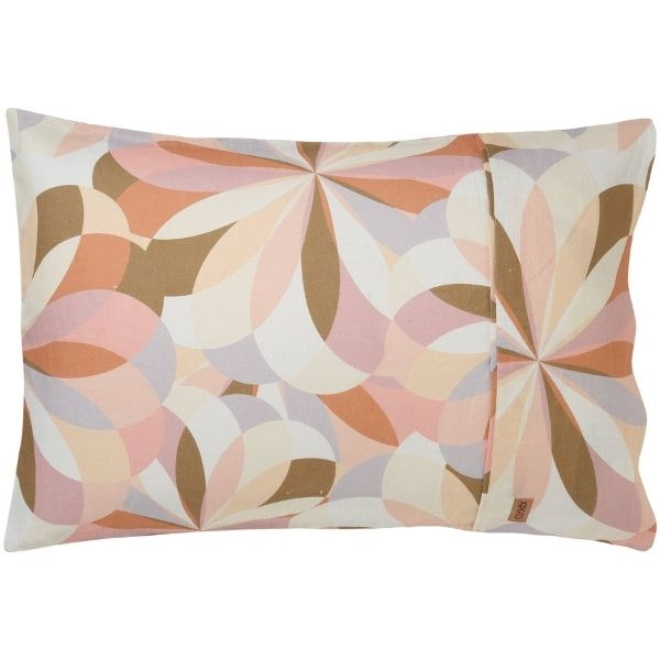 Kaleidoscope Linen 2 Pk Pillowcases KS