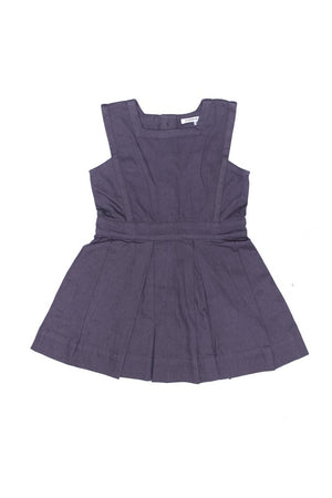 Matilda Pinafore Charcoal Grey